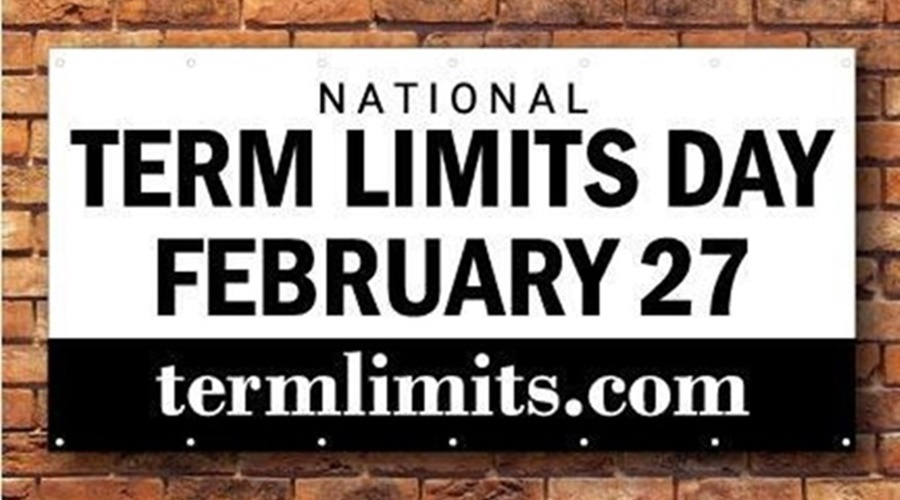 Banner for National Term Limits Day February 27, 2019