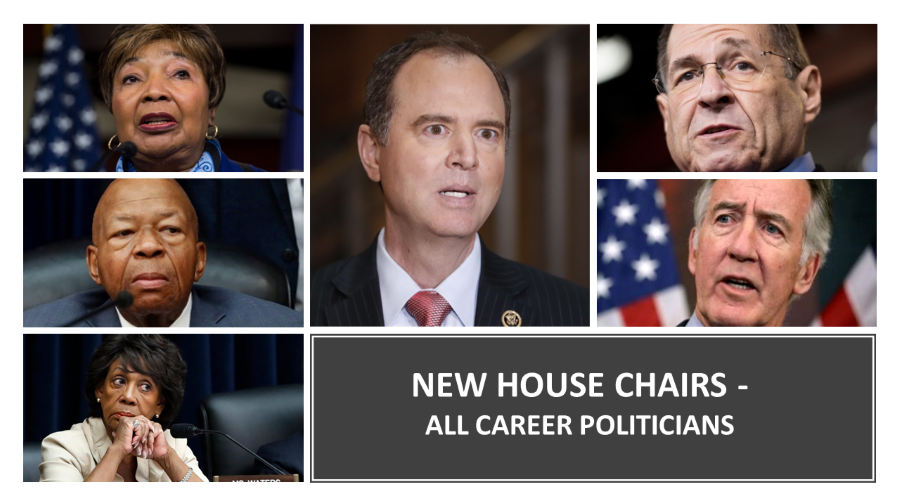 New House Chair - All Career Politicians